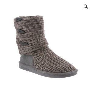 Bearpaw Knit Tall Boots Size 5